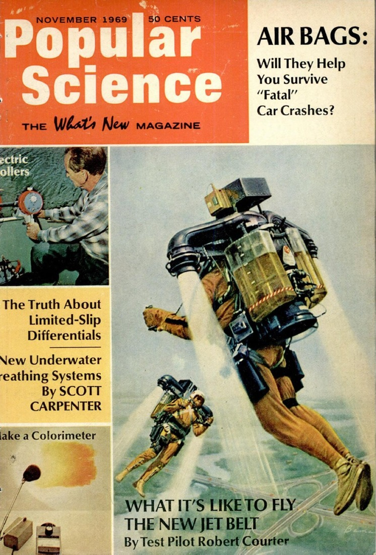 Popular Science Leisure Homes Book 70s Design: The Future Passed: Jetpack Edition