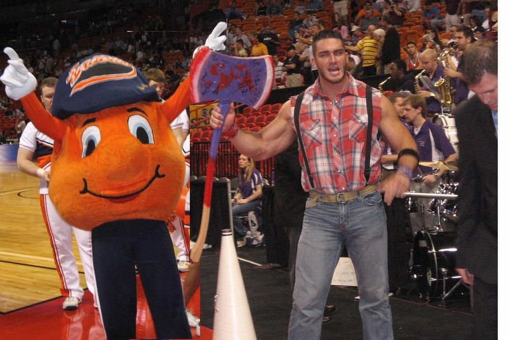 Mascot Wars Stephen F Austin Vs Syracuse Blogger So Dear