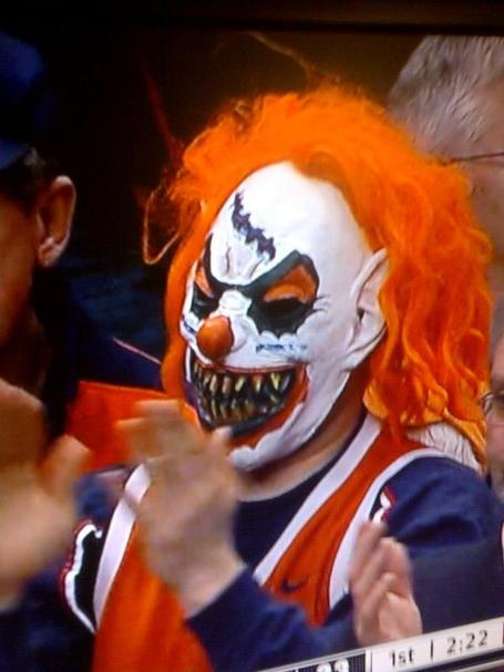 Dome Dude Nightmare Cuse Clown Usher In New Era Of Carrier Dome