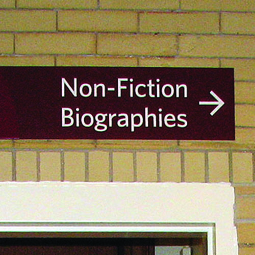 Westerly Library signage