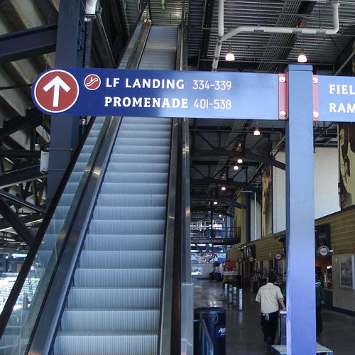 Citifield signage