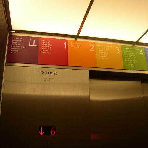 Plaque signage