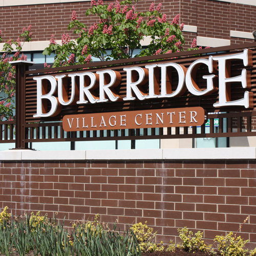 Burr Ridge Mall signage