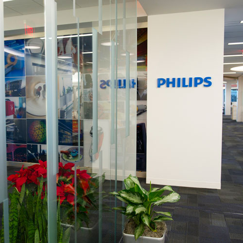 Philips North America signage