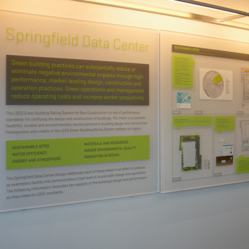 Springfield Data Center signage