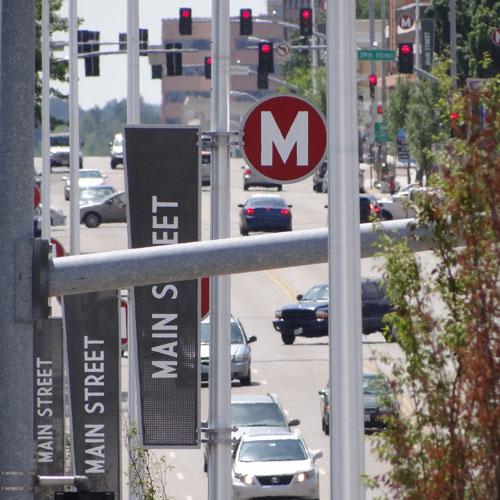 Kansas City Streetscape signage