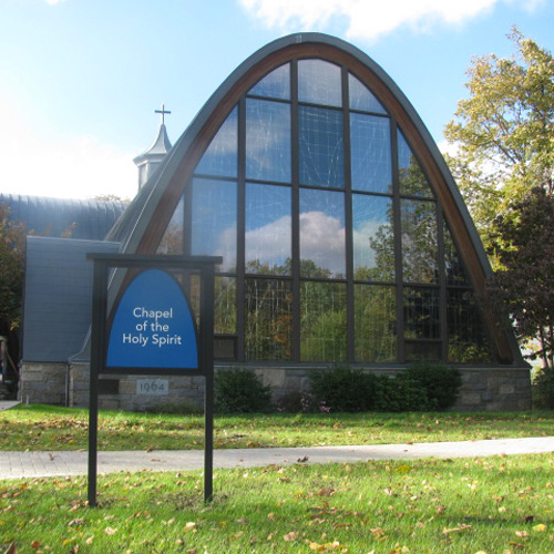 Assumption College signage