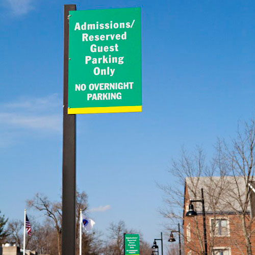 Fitchburg State University signage
