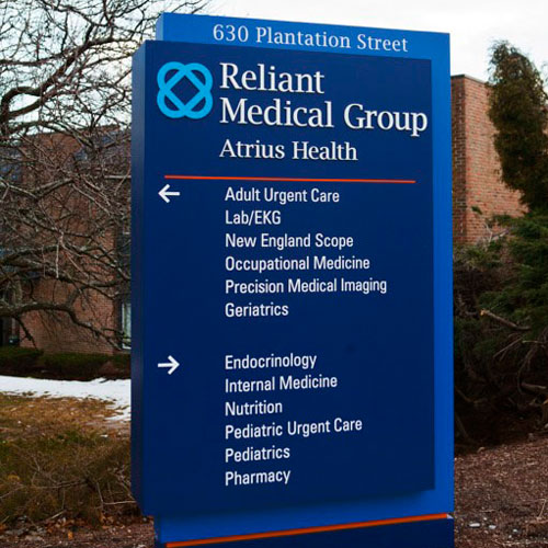 Reliant Medical Group signage