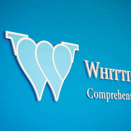 Whittier Street Health Care Center signage