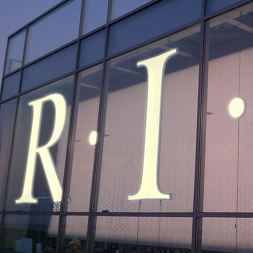 Metal Letters, Illuminated signage