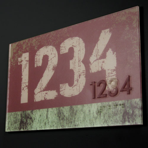 Thermoformed ADA Signs signage