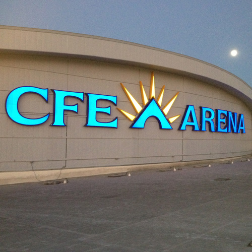 CFE Arena, University of Central Florida signage