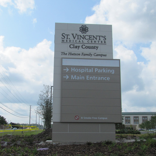 Adventist Health System Solutions Center signage