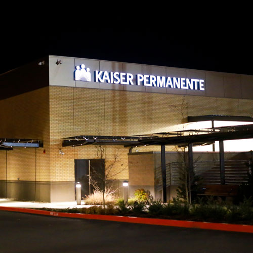 Kaiser Permanente signage