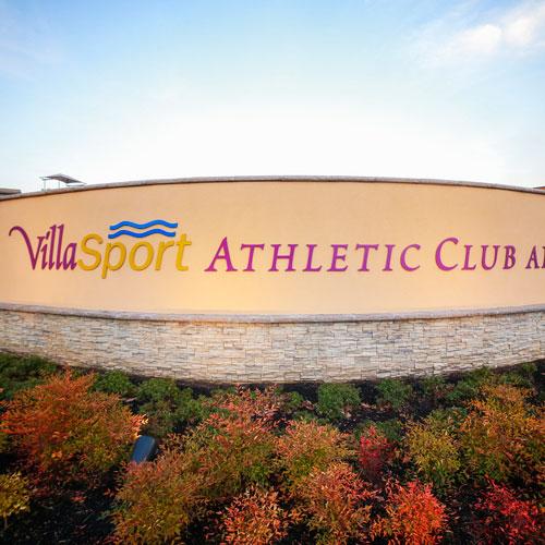 VillaSport signage