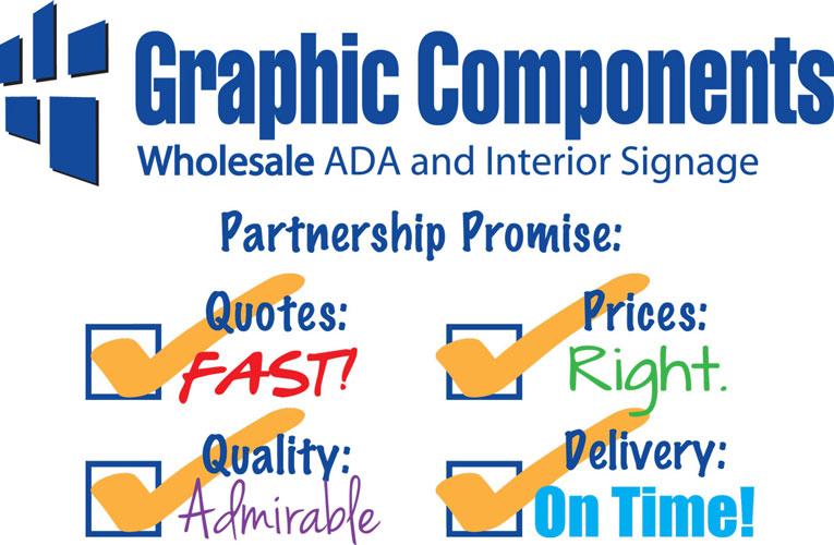 Partnership Promise signage
