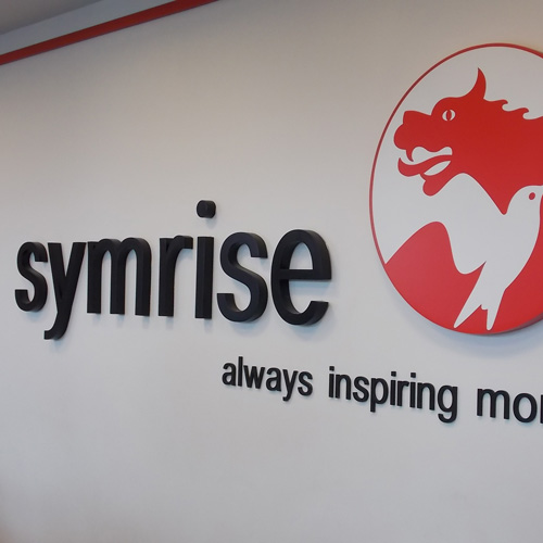 Symrise - North American HQ signage