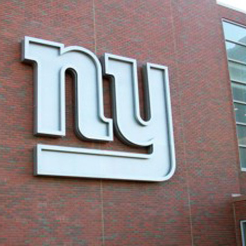 NY Giants Corporate & Training Facility signage