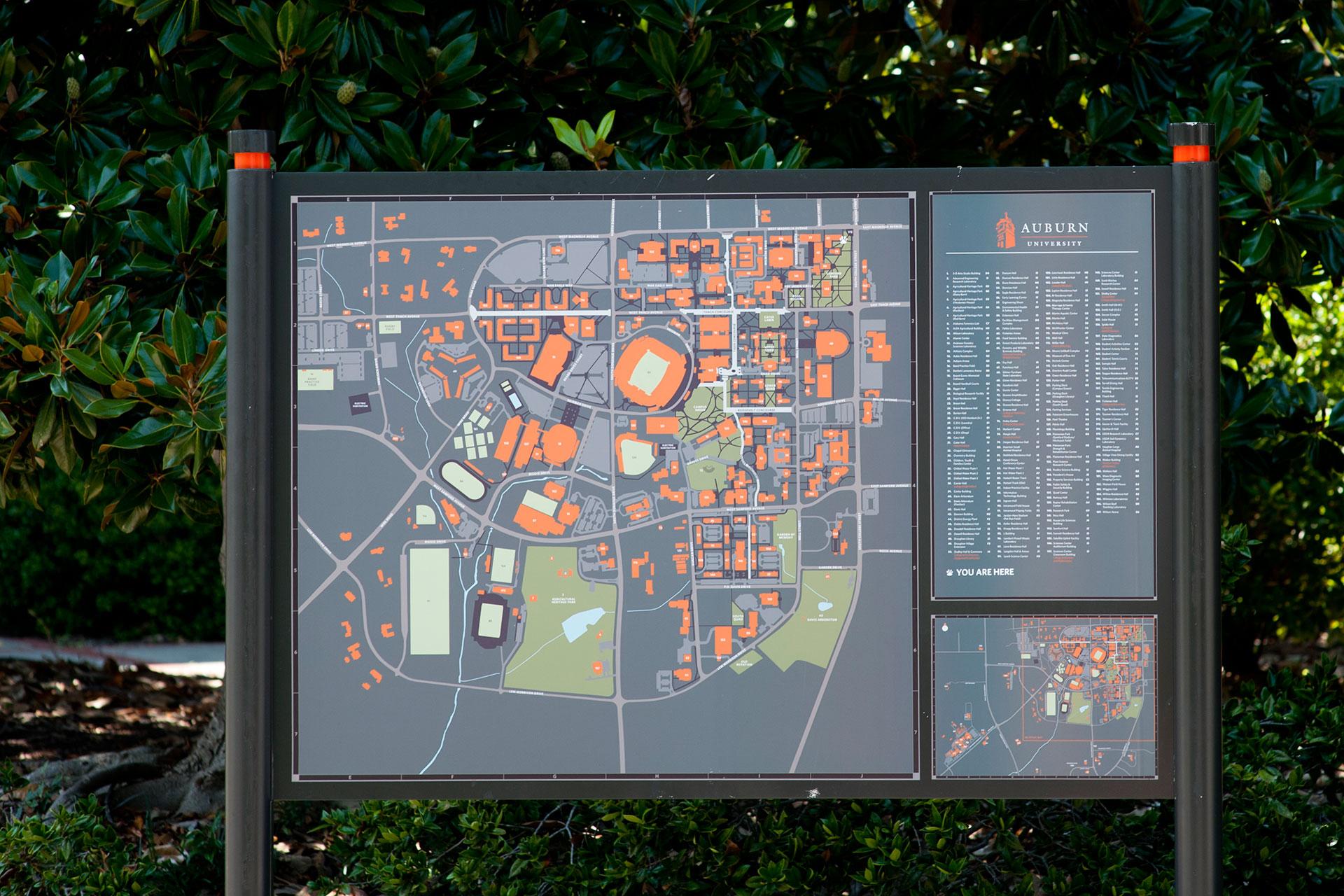Orientation map signs seesaw - Auburn university interior design program ...