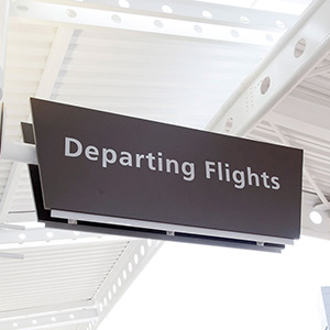 Birmingham International Airport signage