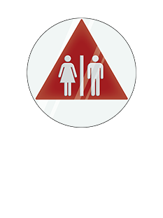 Sign:CA Unisex ID, Light Background