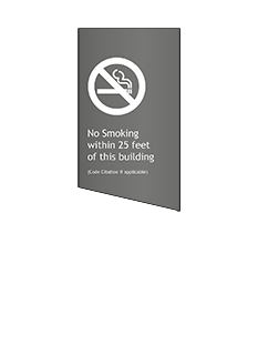 Sign:Regulatory, No Smoking