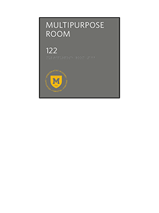 Sign:Major Room ID