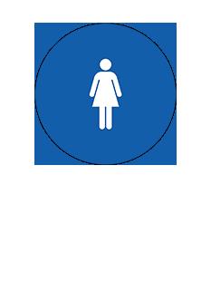 Sign:CA Women ID, Dark Background