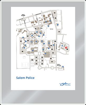 Sign:Map/Paper Insert Holder
