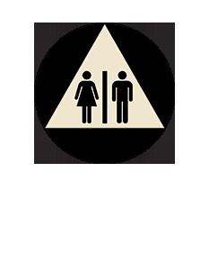 Sign:CA Unisex ID, Dark Background