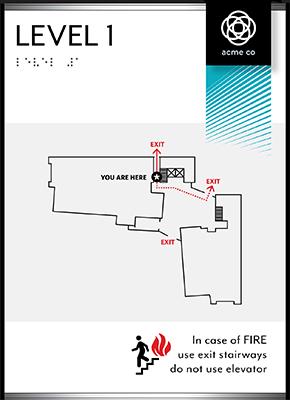 Sign:Egress Map