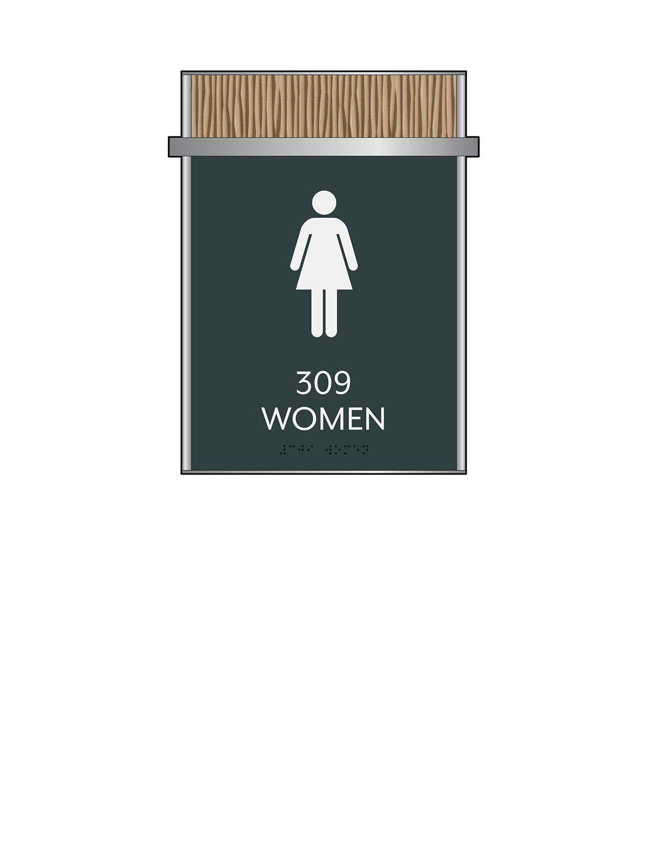 Sign:Restroom ID