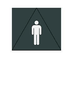 Sign:CA Men ID, Dark Background