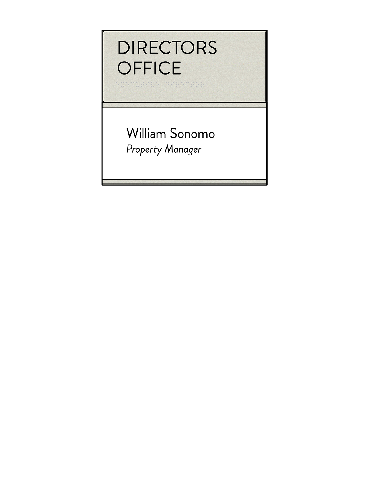 Sign:Office ID