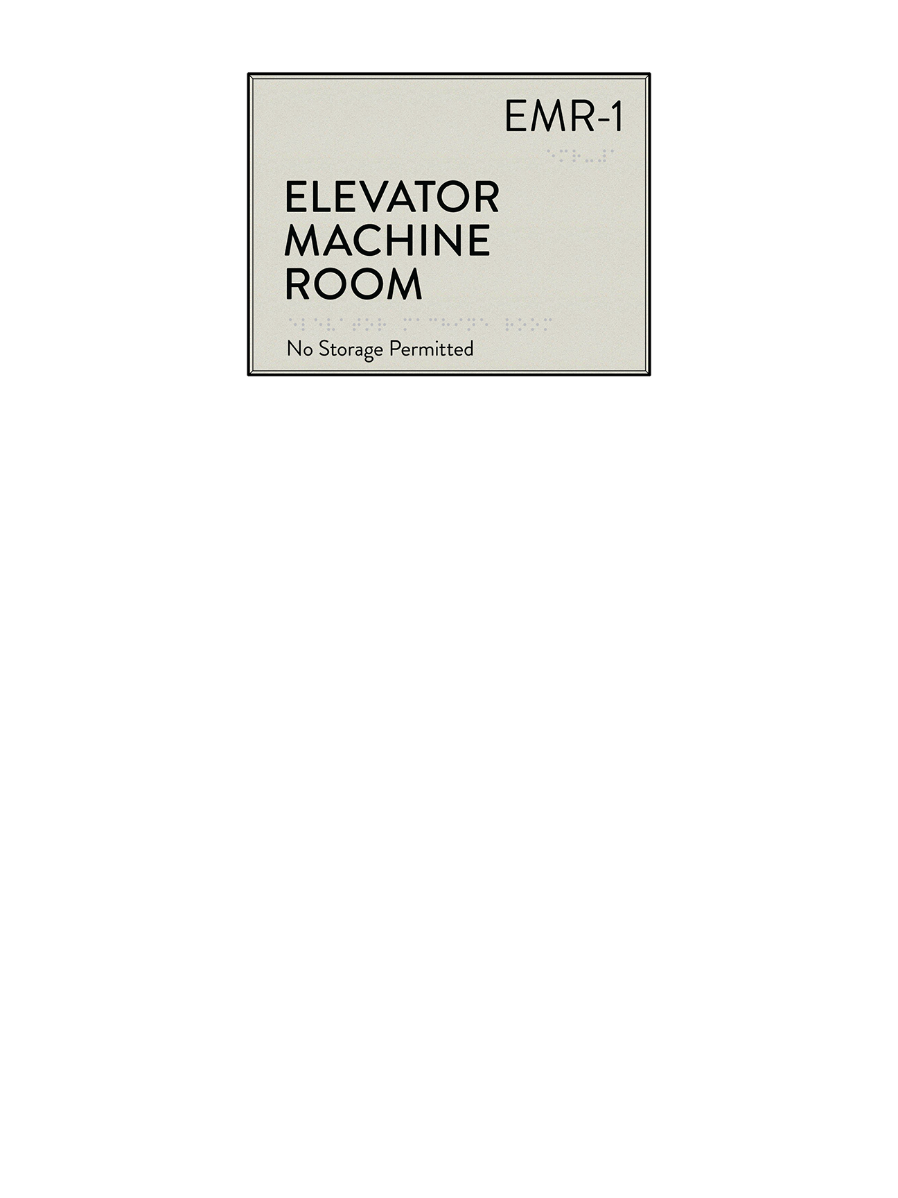 Utility Room Sign Amazing Price Request  Cascade Architectural Sign Family  Identia Sign Inspiration Design
