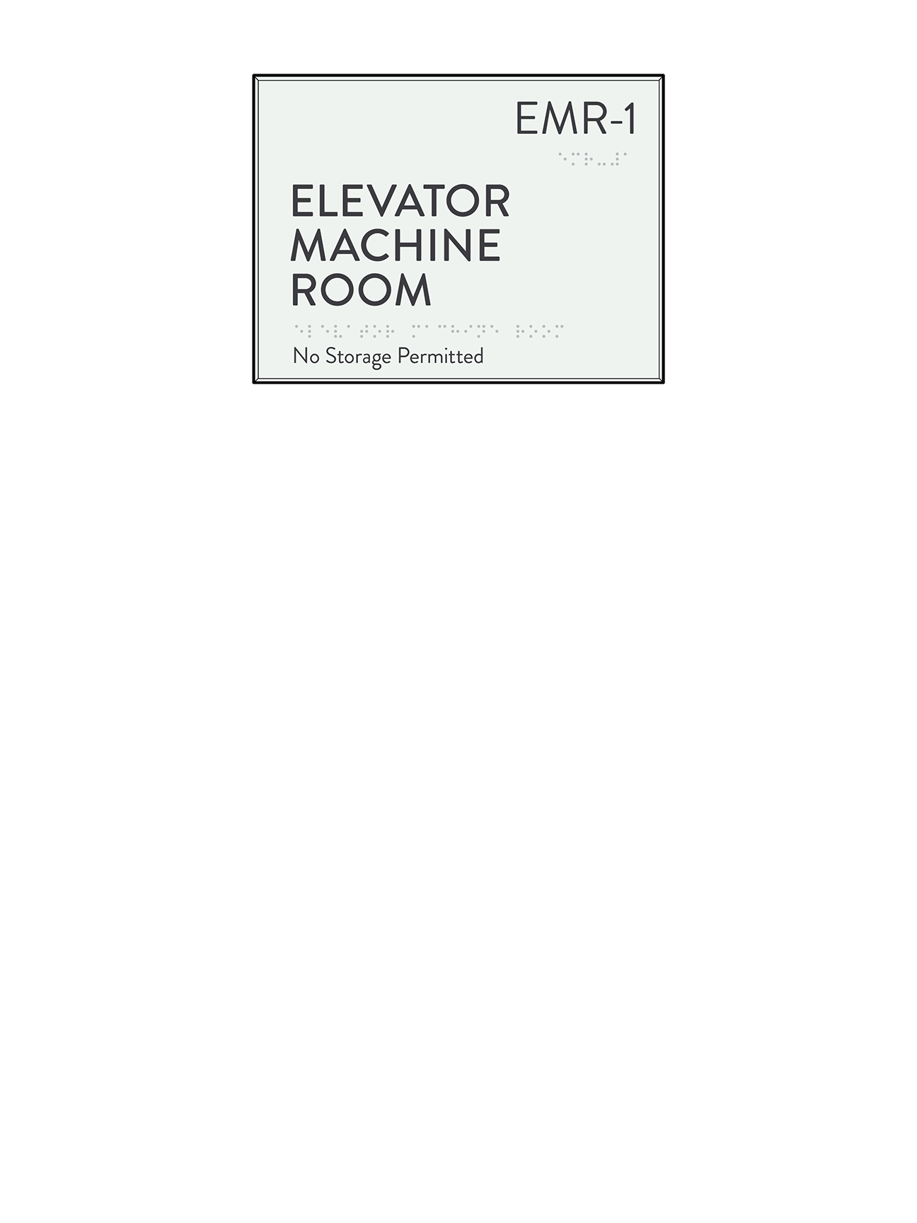 Utility Room Sign Interesting Price Request  Cascade Architectural Sign Family  Identia Sign Design Inspiration