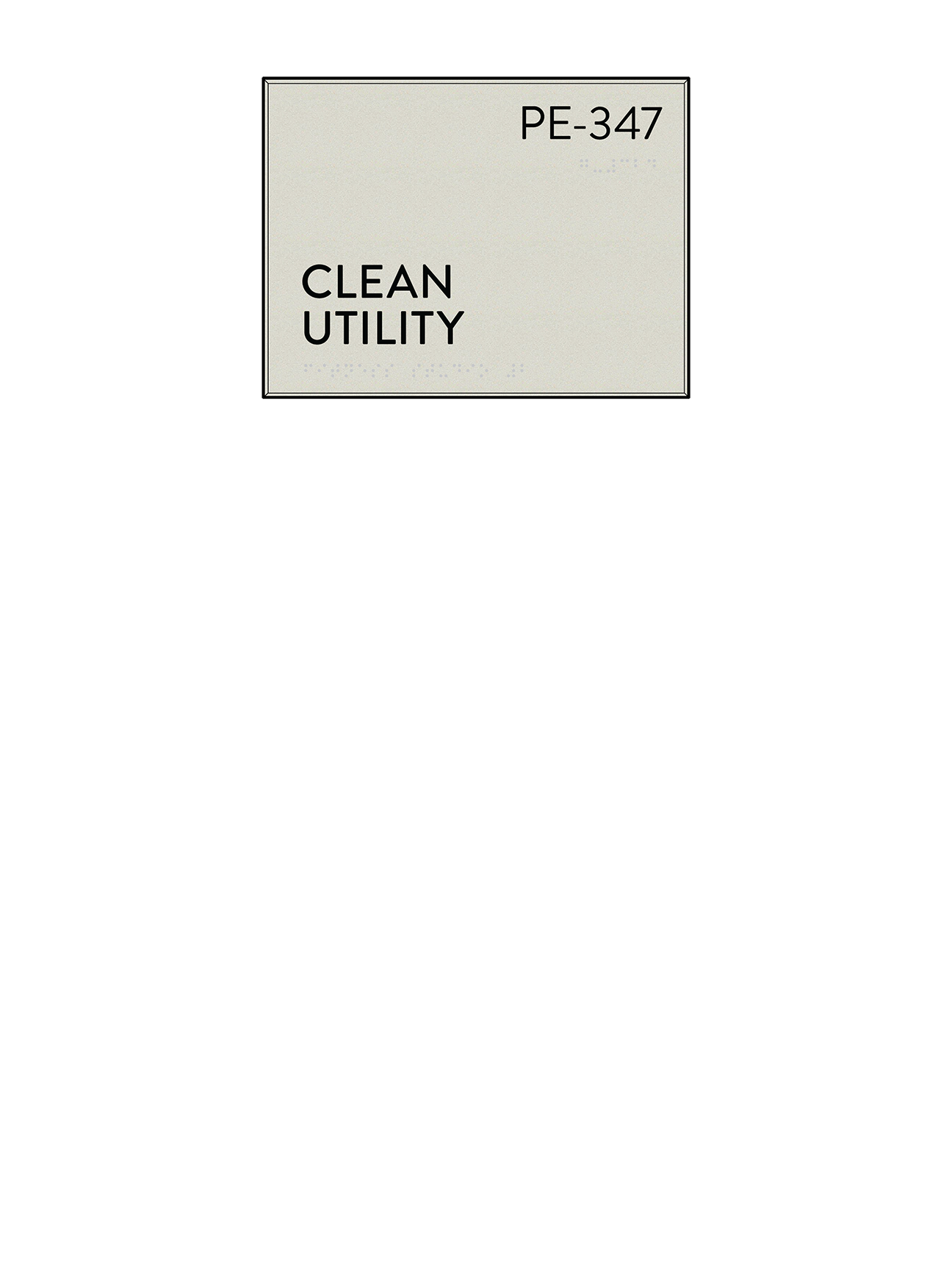 Utility Room Sign Endearing Price Request  Cascade Architectural Sign Family  Identia Sign Review