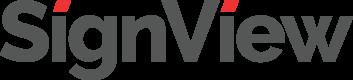 SignView logo