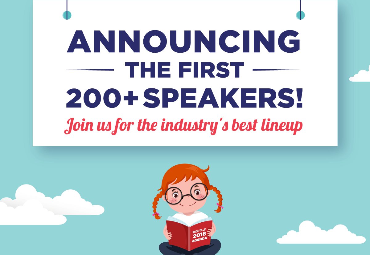 Announcing The First 200+ Speakers! -- Join Us For The Industry's Best Lineup!