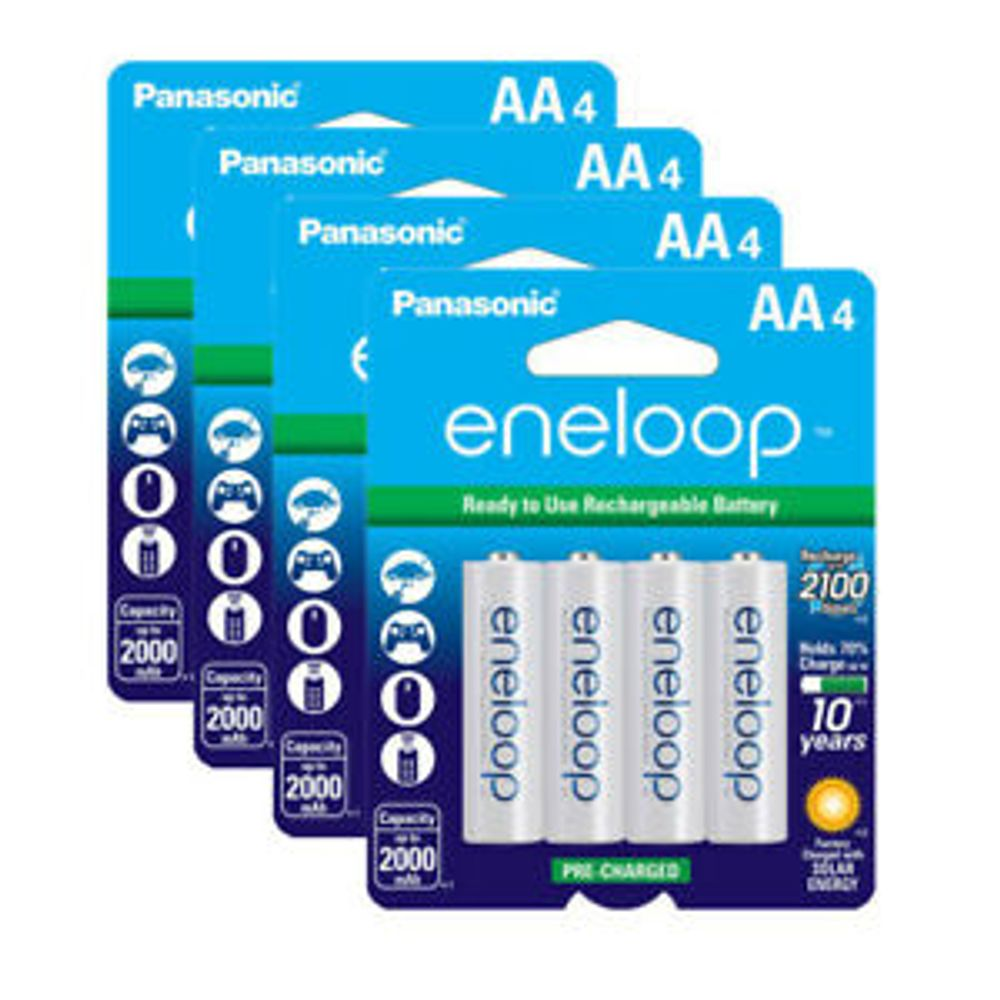 Eneloop AA Batteries, 16-pack on Sale for $ 43.99 (Save $ 11.00) at Costco Canada