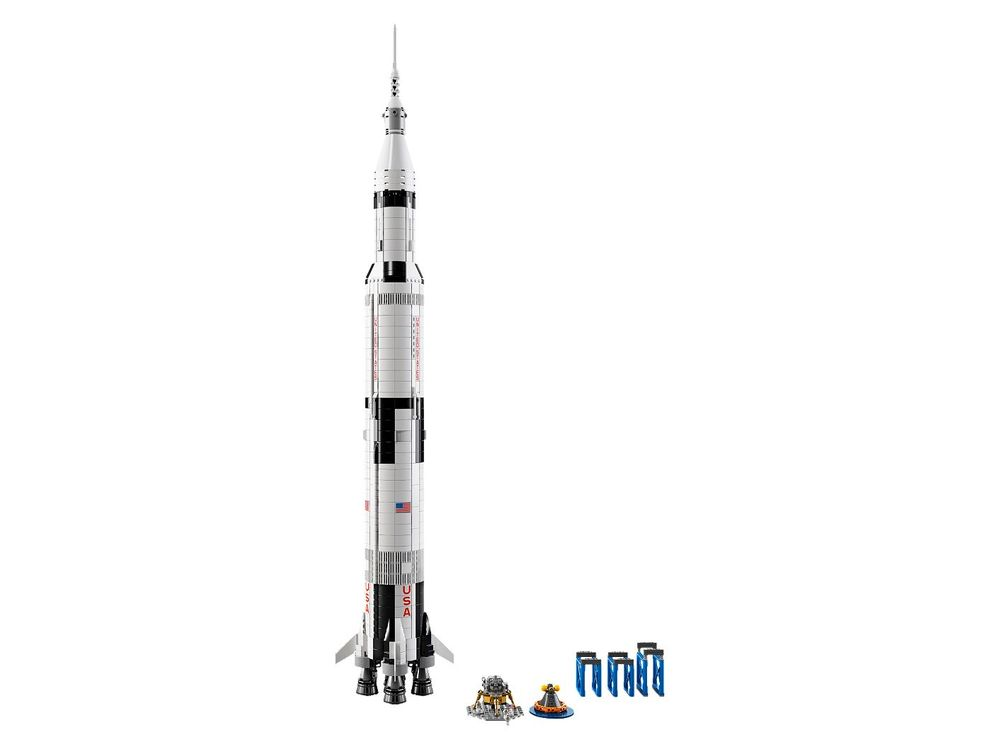 LEGO Ideas NASA Apollo Saturn V 21309 Building Kit $104.86 at Walmart Canada