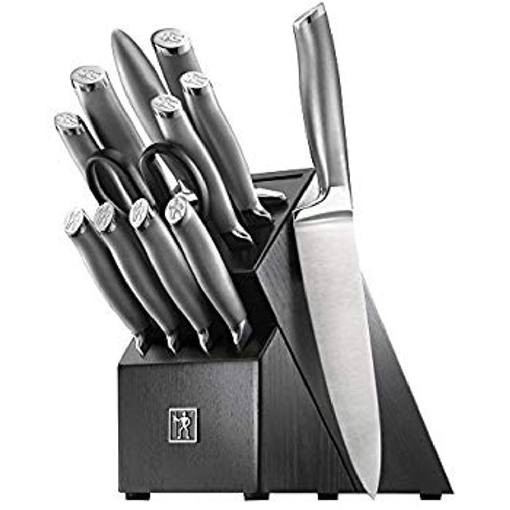 Henckels Forged Diamond 17-piece Knife Block Set on Sale for $129.99 at Costco Canada