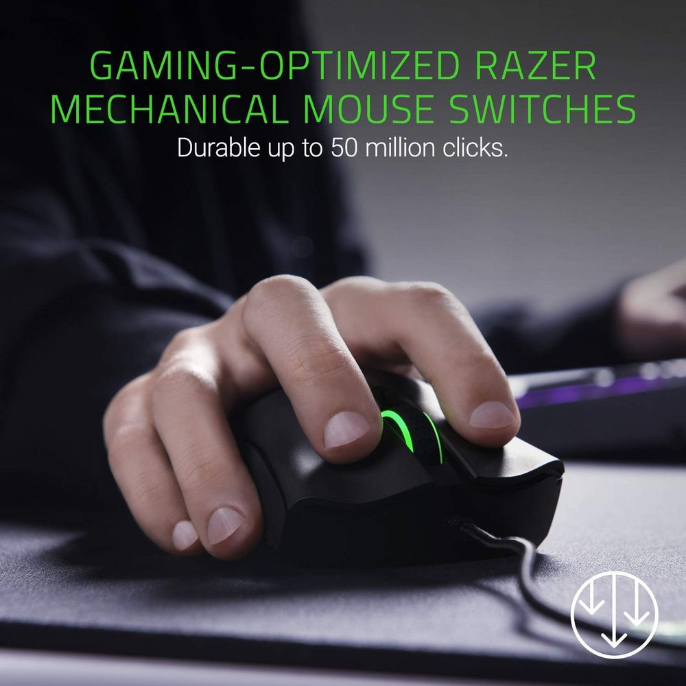 Razer DeathAdder. Mouse on Sale for $ 43.12 (Save $51.87) at Amazon Canada