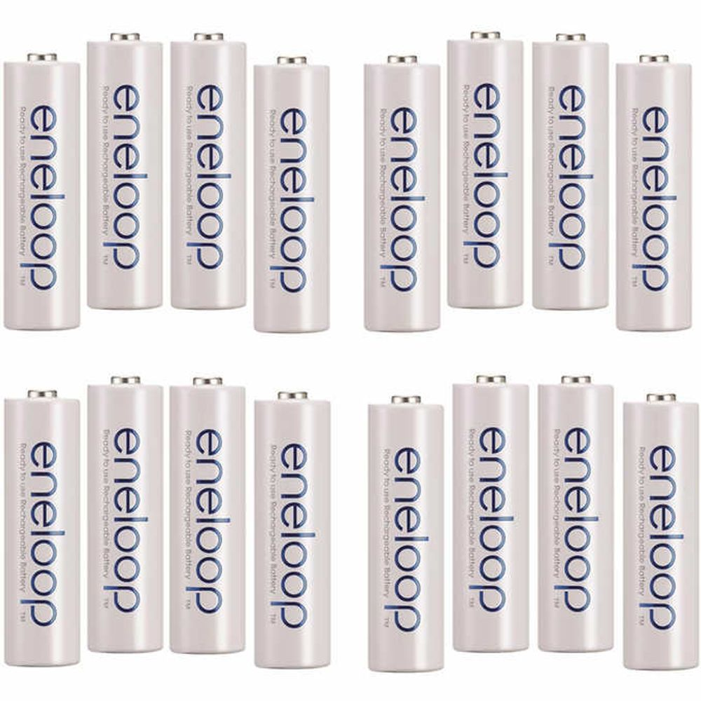 Eneloop AA Batteries 16-pack on Sale for $ 43.99 (Save $ 11.00) at Costco Canada