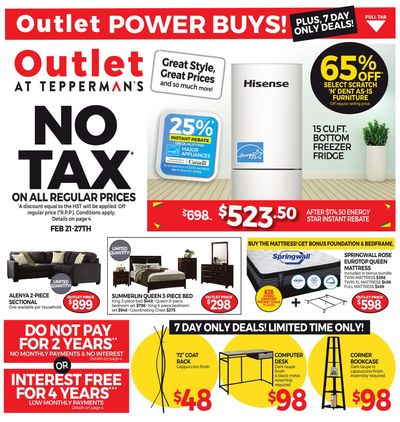 Outlet at Tepperman's