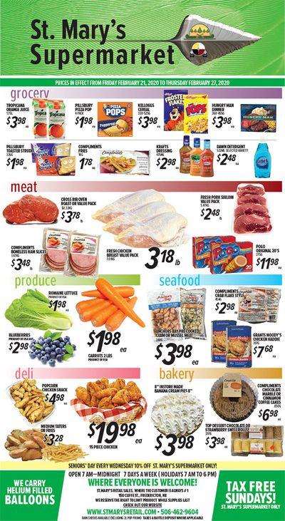 St. Mary's Supermarket