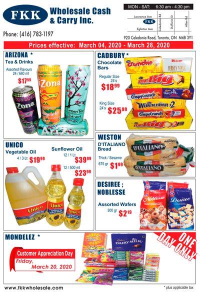 FKK Wholesale Cash & Carry