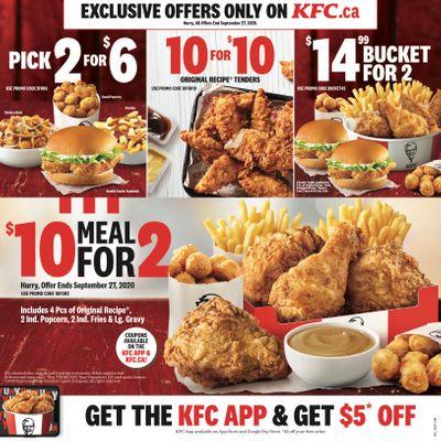 KFC Kentucky Fried Chicken Canada