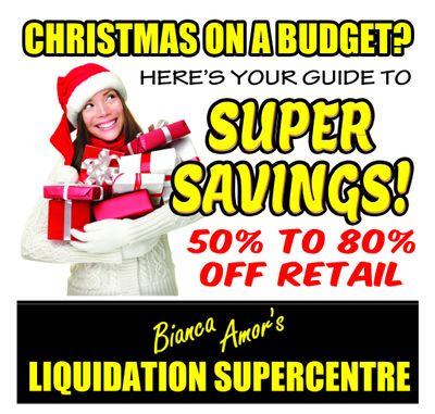 Bianca Amor's Liquidation Supercentre
